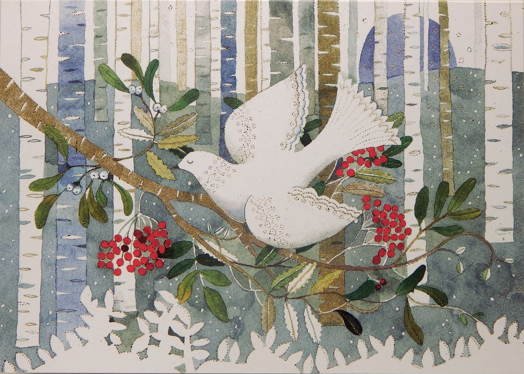 Bird Christmas Cards (#1048)<br>KEEPSAKE BOX<br>by Peter Pauper Press