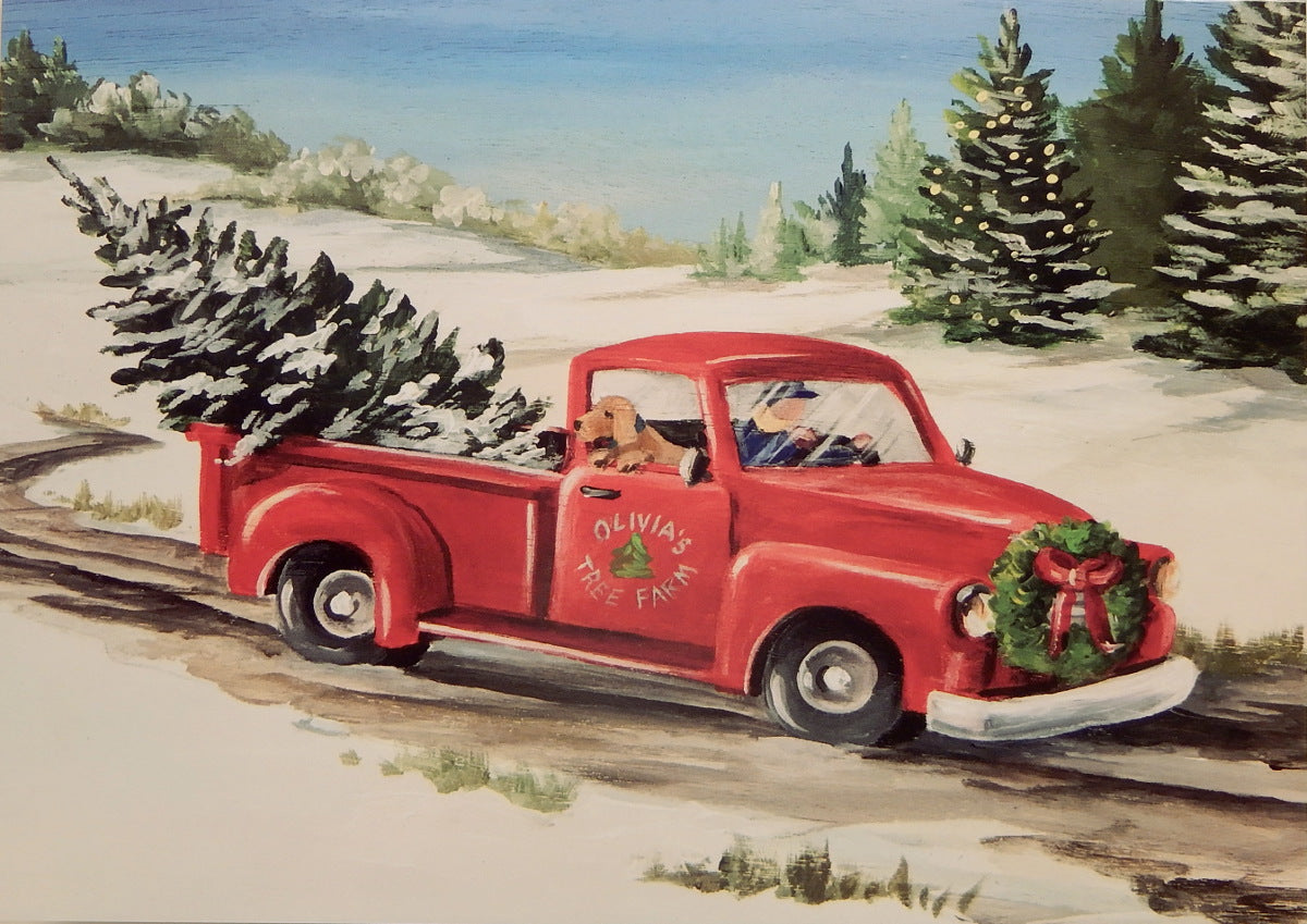 Scenic Christmas Cards (#1054)<br>by East Coast Print Images