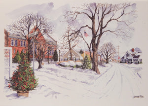 Scenic Christmas Cards (#1075)<br>by Onion Hill Designs