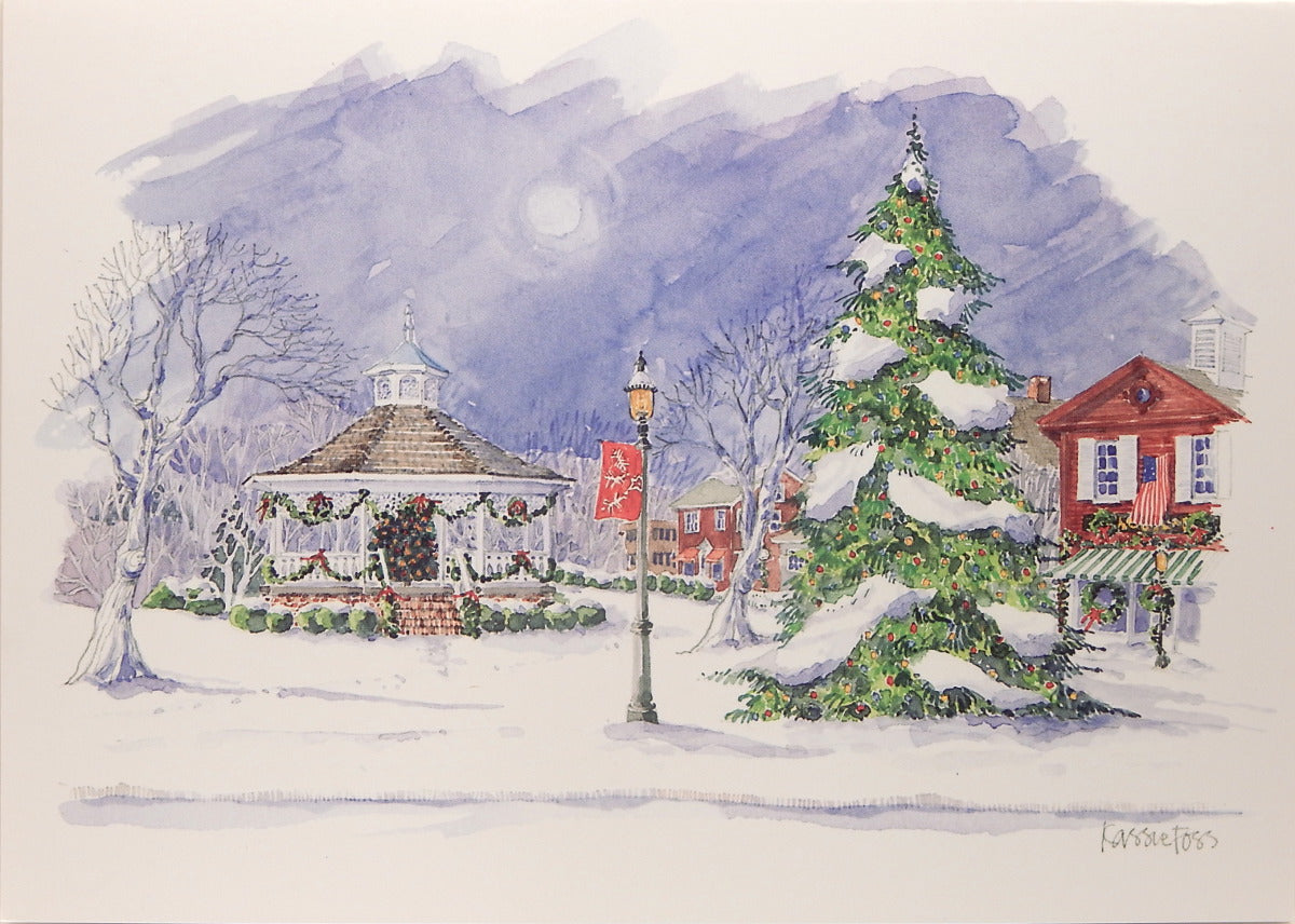 Scenic Christmas Cards (#1079)<br>by Onion Hill Designs