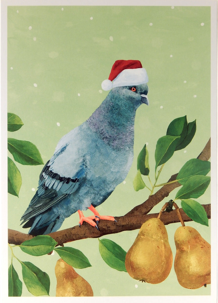 Bird Christmas Cards (#1105)<br>100% Recycled<br>by Allport Editions