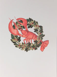 "Nautical Christmas Cards (#1108)<br><font color=""red""><b>SMALLER CARD</b></font><br>by Shirley Bell"