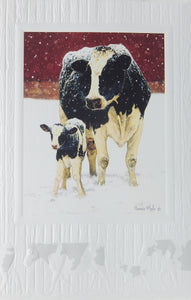 Farm Christmas Cards (#1127)<br>Embossed by Pumpernickel Press