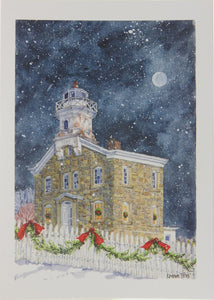 Lighthouse Christmas Cards (#1160)<br>by Onion Hill Designs