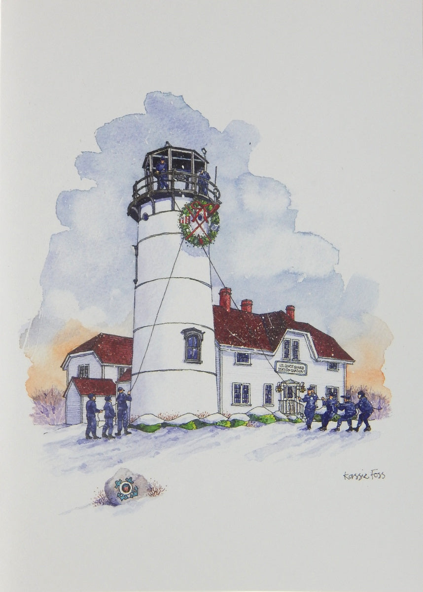 Lighthouse Christmas Cards (#1162)<br>by Onion Hill Designs