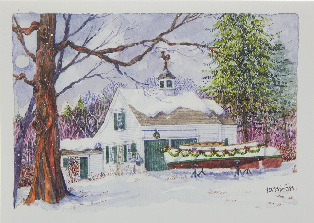 Scenic Christmas Cards (#1164)<br>NEW! by Onion Hill Designs
