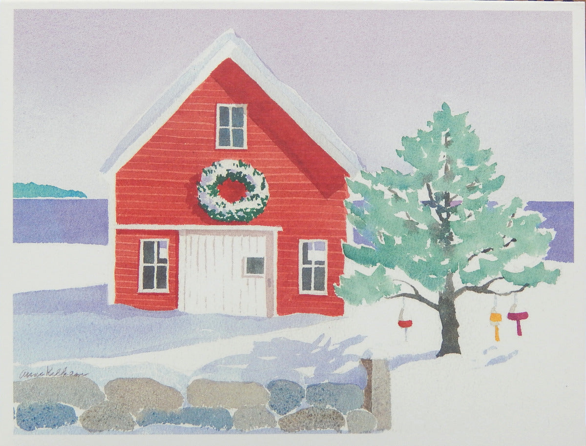 Scenic Holiday Cards (#1169)<br>Blank Inside, No Box!<br>NEW! by Anne Kilham