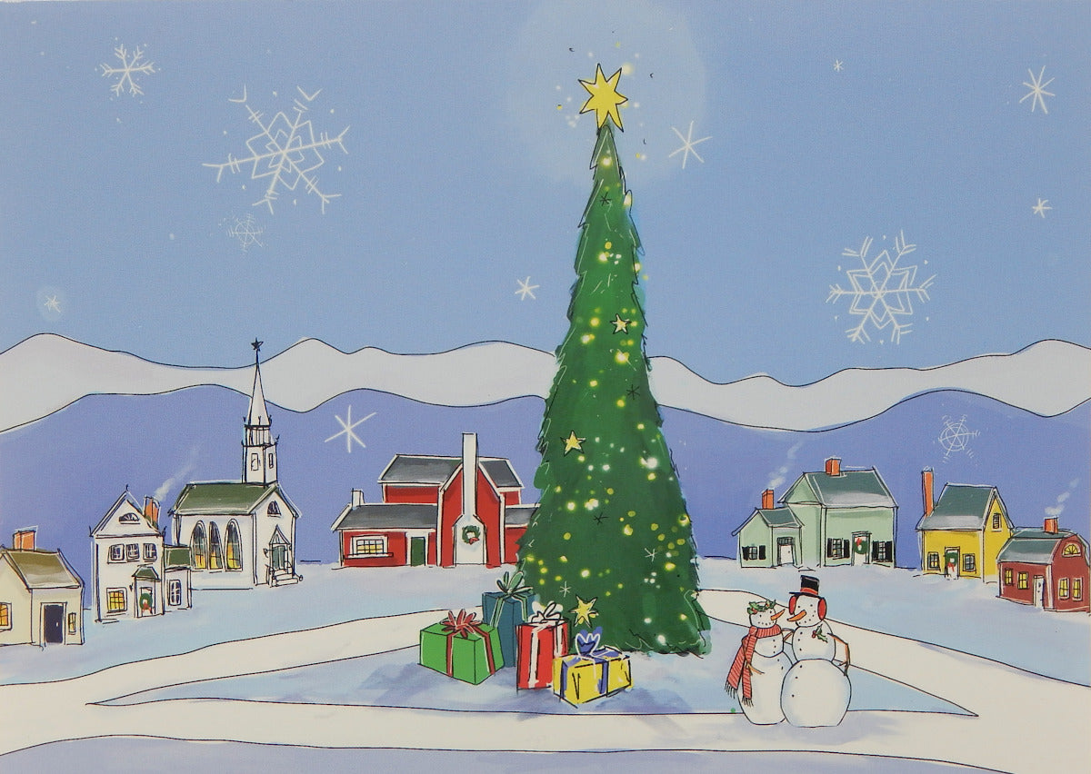 Scenic Christmas Cards (#1188)<br>by East Coast Print Images