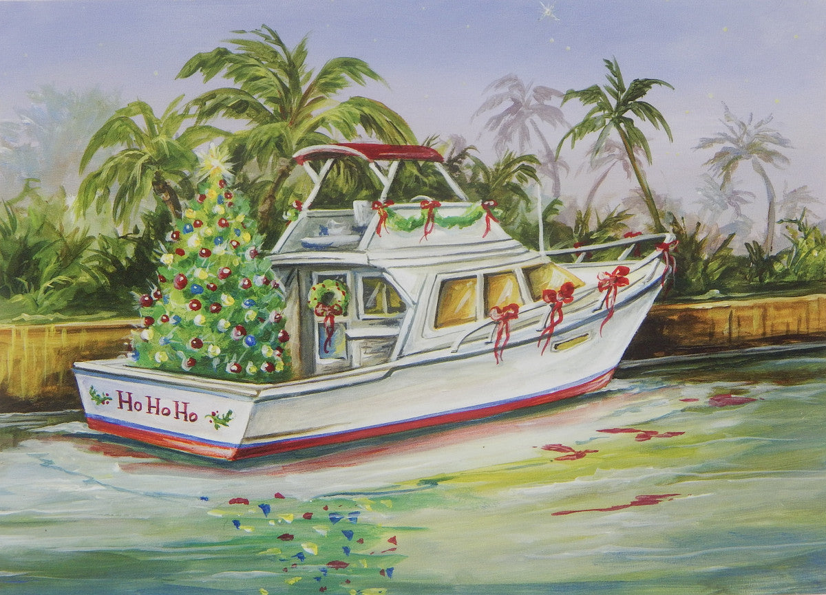 Nautical Christmas Cards (#1190)<br>by East Coast Print Images