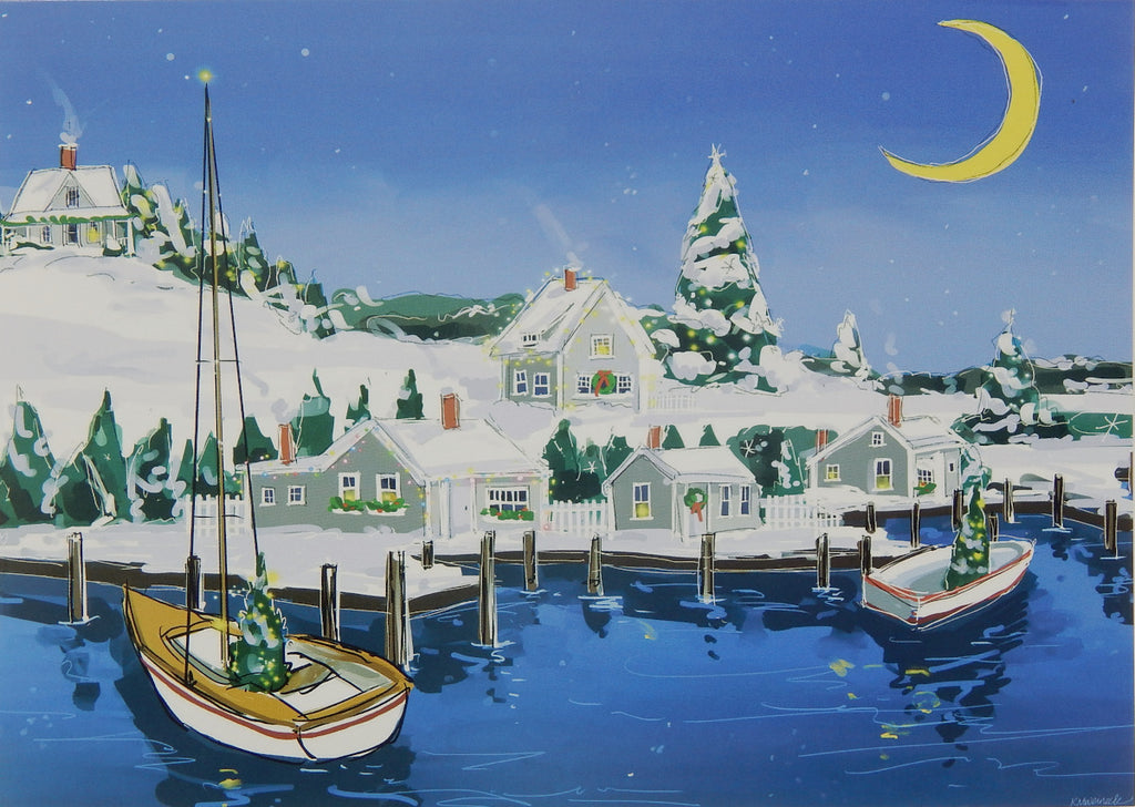 Nautical Christmas Cards (#1191)<br>NEW! by East Coast Print Images