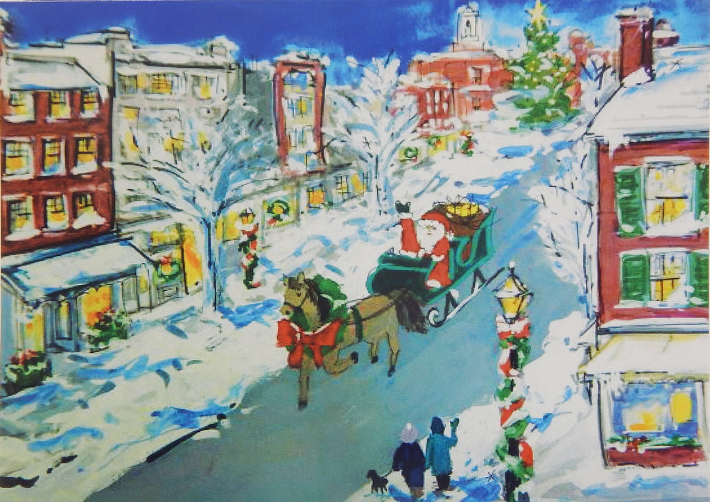 Scenic Christmas Cards (#1193)<br>NEW! by East Coast Print Images