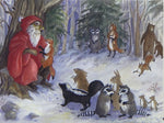 Wildlife Holiday Notecards (#1201)<br>Blank Inside, Story Line on Back<br>NEW! by Woodfield Press