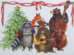 Wildlife Holiday Notecards (#1202)<br>Blank Inside, Story Line on Back<br>NEW! by Woodfield Press