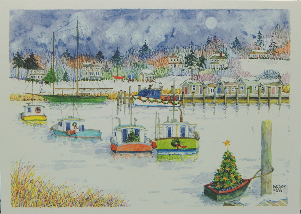 Nautical Christmas Cards (#1209)<br>NEW! by Onion Hill Designs
