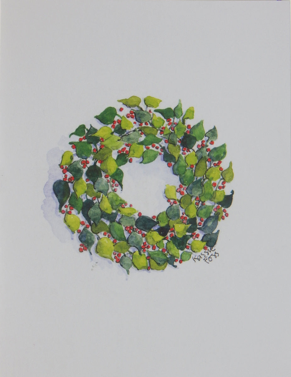 "Scenic Christmas Cards (#1212)<br><font color=""red""><b>SMALLER CARD</b></font><br>NEW! by Onion Hill Designs"
