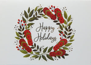 """Happy Holidays""<br>Nautical Christmas Cards (#1214)<br>NEW! by Masterpiece Studios"