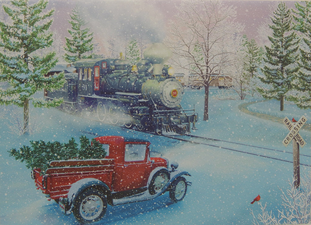 Scenic Christmas Cards (#1224)<br>NEW! by Vermont Christmas Co.