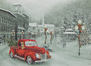 Scenic Christmas Cards (#1226)<br>NEW! by Vermont Christmas Co.