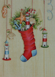 Lighthouse Christmas Cards (#1236)<br>NEW! by LPG Greetings