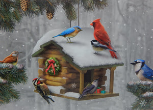 Bird Christmas Cards (#1237)<br>NEW! by LPG Greetings