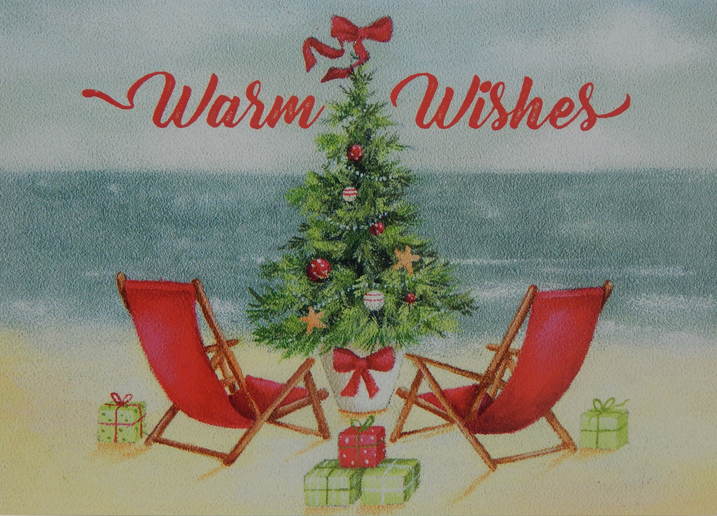 """Warm Wishes""<br>Nautical Christmas Cards (#1238)<br>NEW! by LPG Greetings"