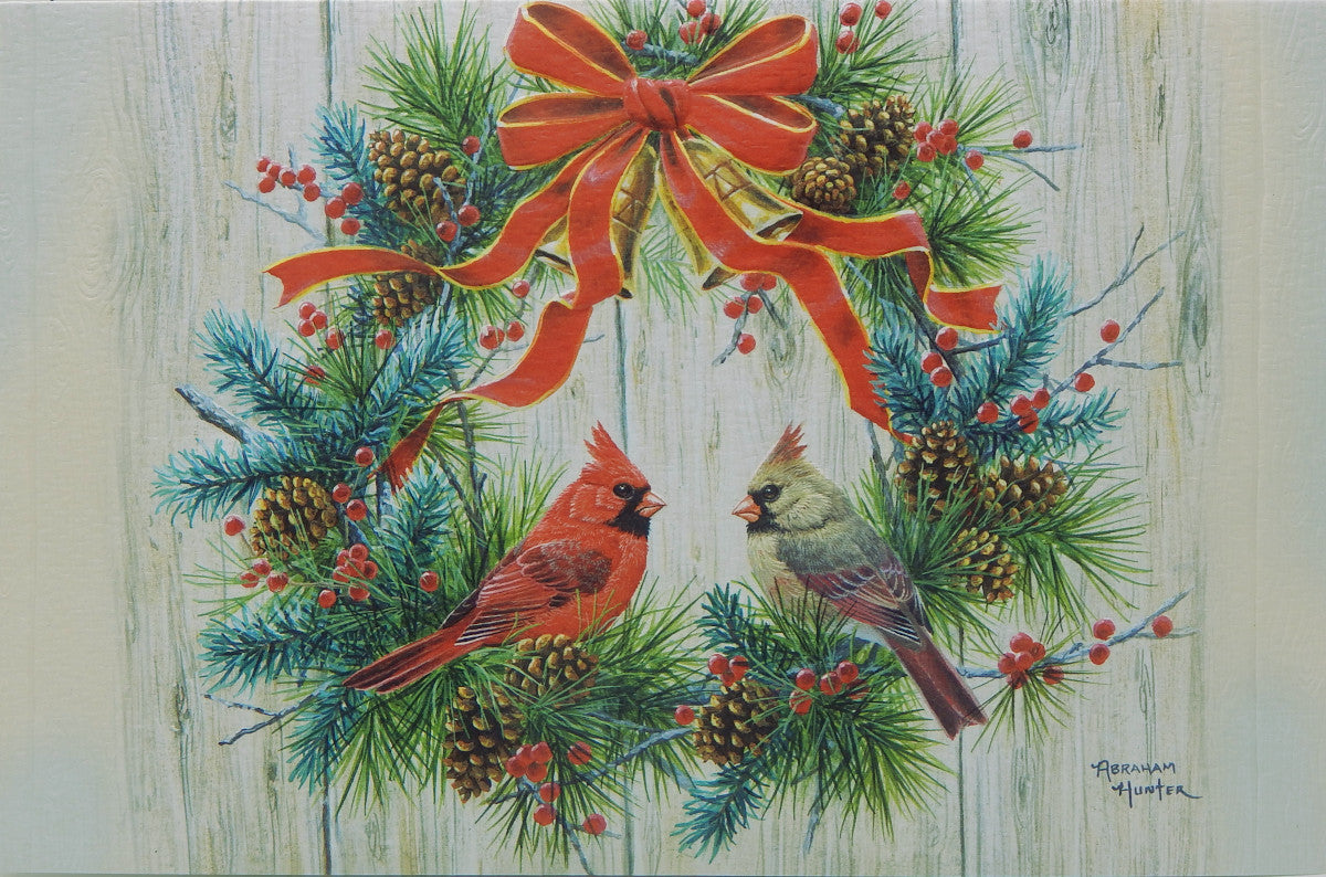 Bird Christmas Cards (#1246)<br>NEW! Embossed by Pumpernickel Press