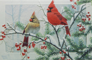 Bird Christmas Cards (#1247)<br>NEW! Embossed by Pumpernickel Press