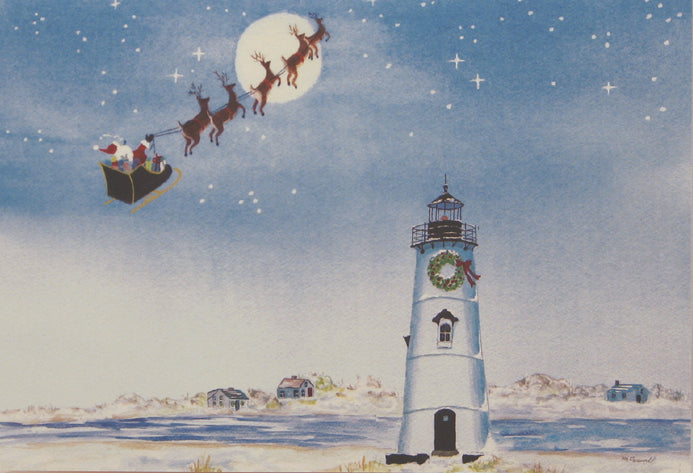 Lighthouse Christmas Cards (#389)<br>by East Coast Print Images