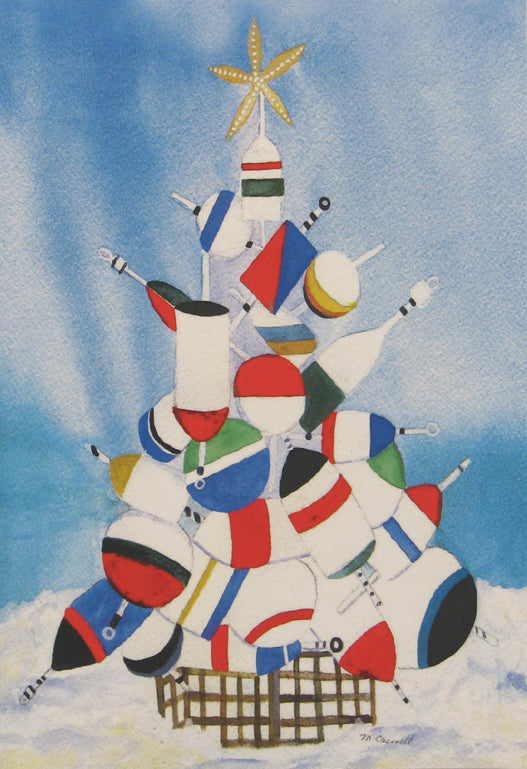 Nautical Christmas Cards (#395)<br>by East Coast Print Images