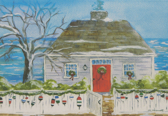 Nautical Christmas Cards (#398)<br>by East Coast Print Images