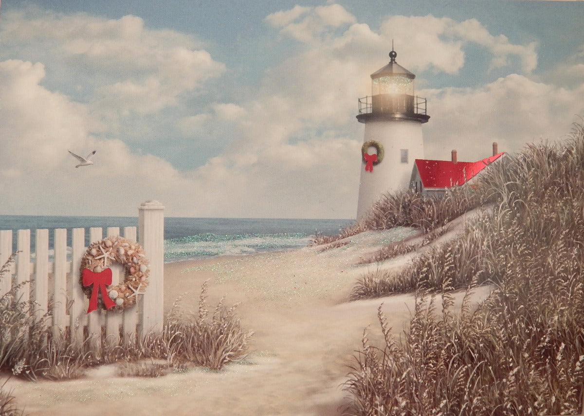 Lighthouse Christmas Cards (#421B)<br>by Cape Shore