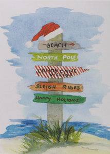 Nautical Christmas Cards (#461)<br>by East Coast Print Images