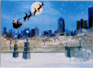 Scenic Christmas Cards (#605)<br>by East Coast Print Images