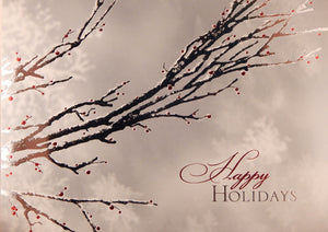"""Happy Holidays""<br>Scenic Christmas Cards (#789)<br>by Masterpiece Studios"