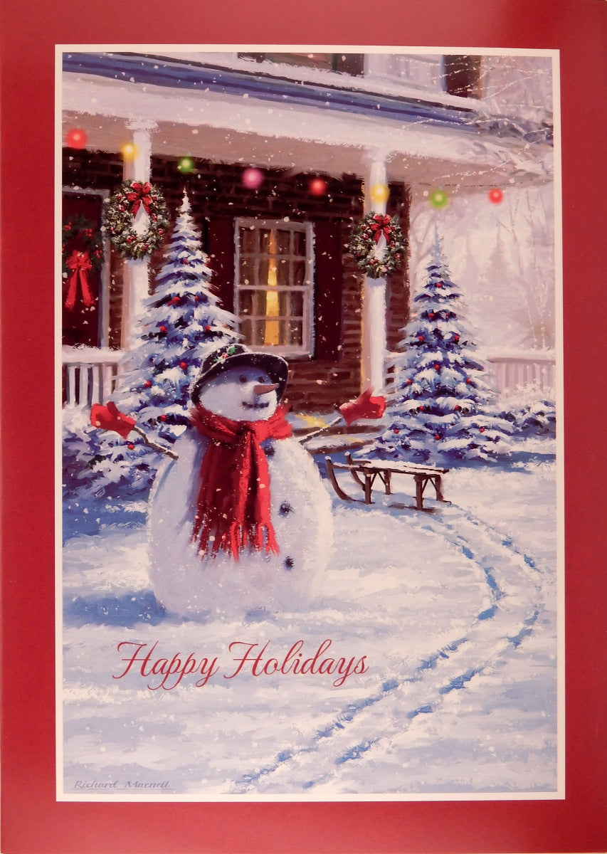 Snowman Christmas Cards (#794)<br>by Masterpiece Studios