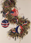 Patriotic Christmas Cards (#842)<br>by LPG Greetings
