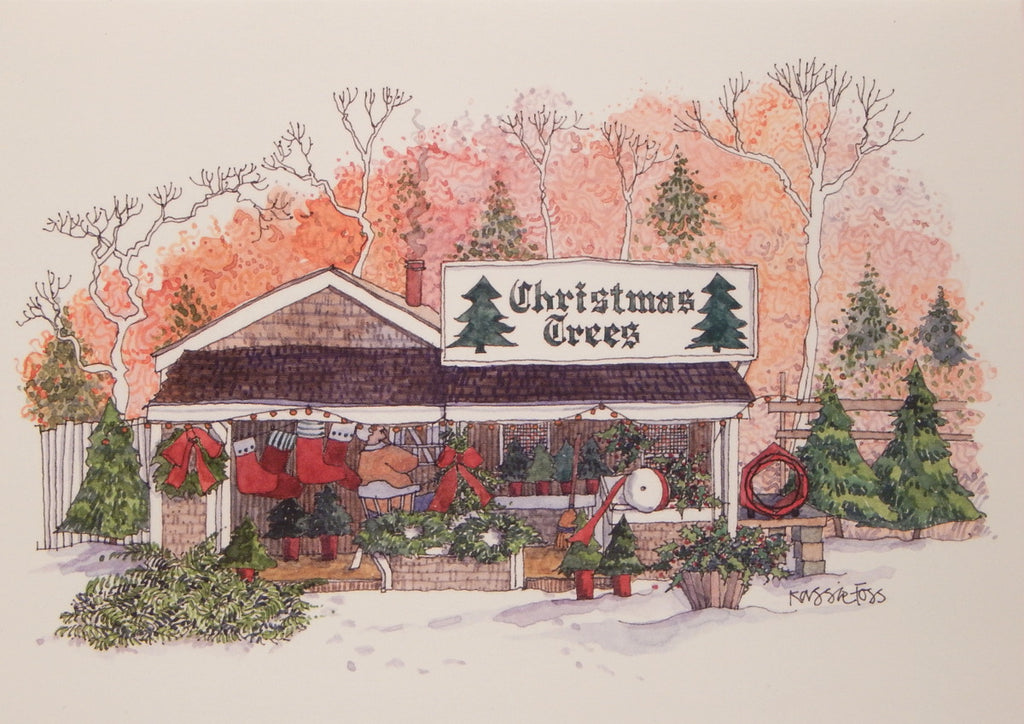 Scenic Christmas Cards (#846)<br>by Onion Hill Designs
