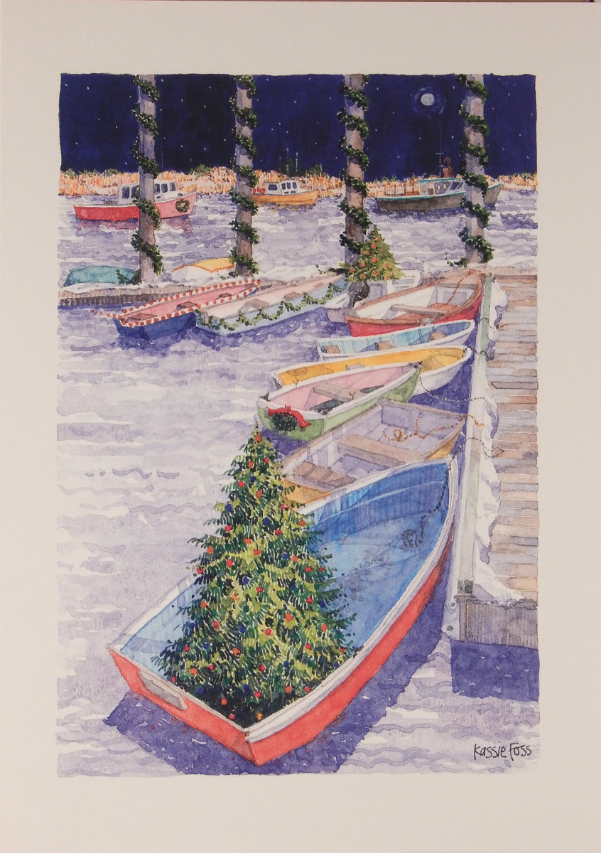 Nautical Christmas Cards (#848)<br>by Onion Hill Designs