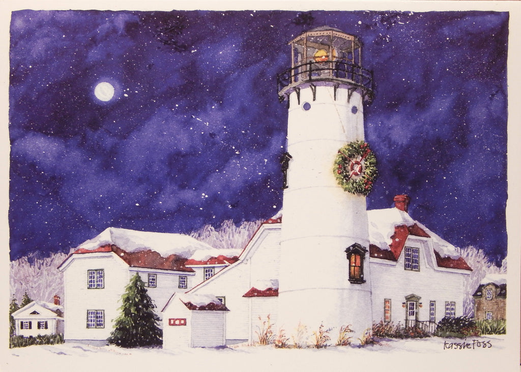 Lighthouse Christmas Cards (#857)<br>by Onion Hill Designs