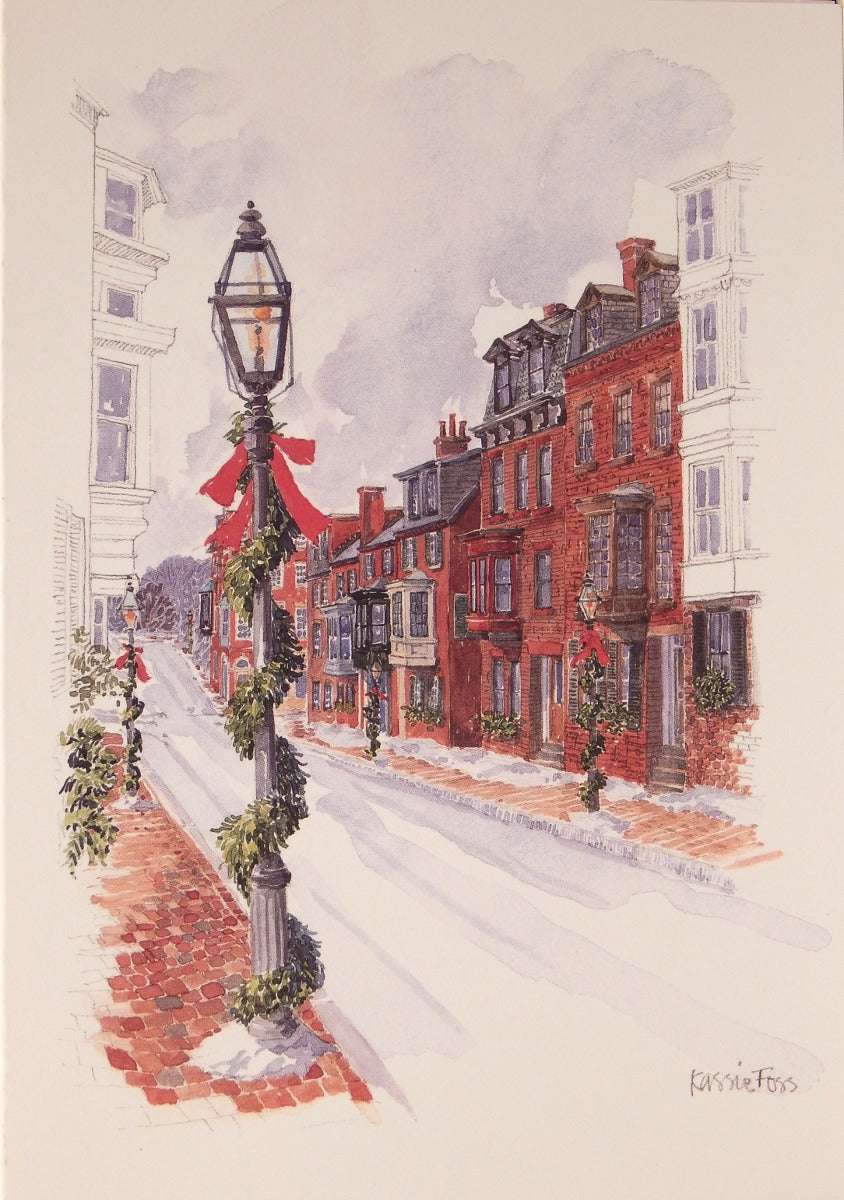 Scenic Christmas Cards (#860)<br>by Onion Hill Designs
