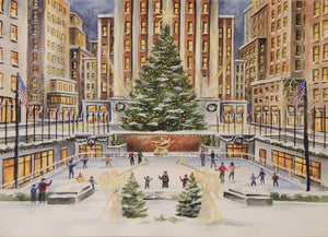 New York City Christmas Cards (#889)<br>by East Coast Images
