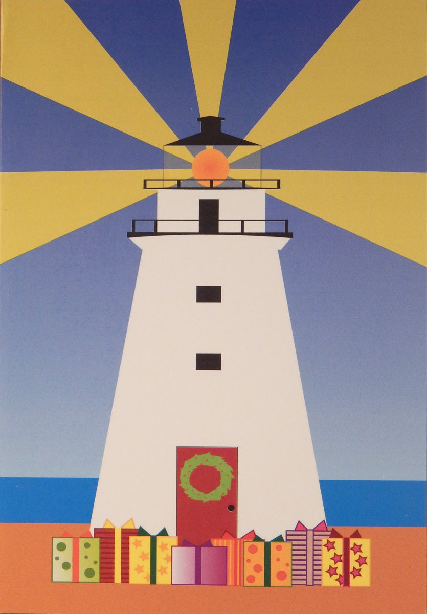 Lighthouse Christmas Cards (#891)<br>by East Coast Print Images