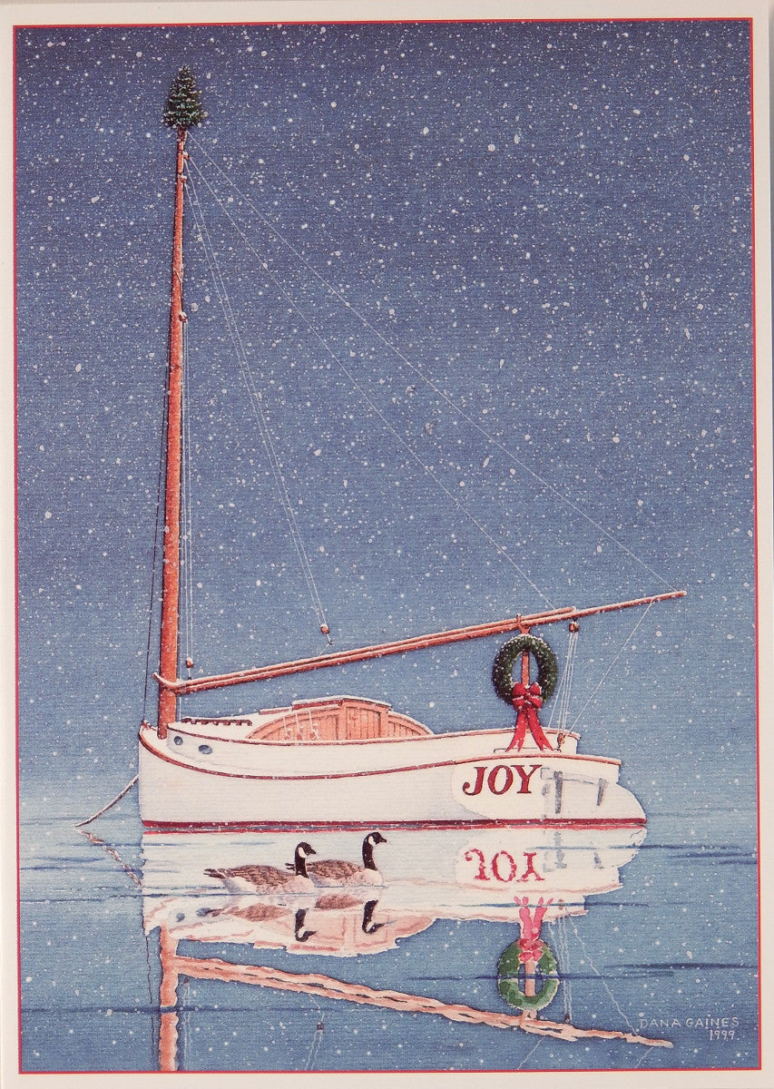 Nautical Christmas Cards (#900)<br>by Gaines Graphics