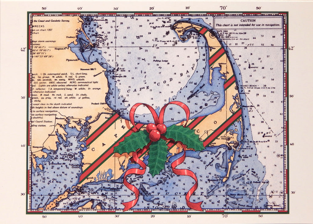Nautical Christmas Cards (#901)<br>by Gaines Graphics