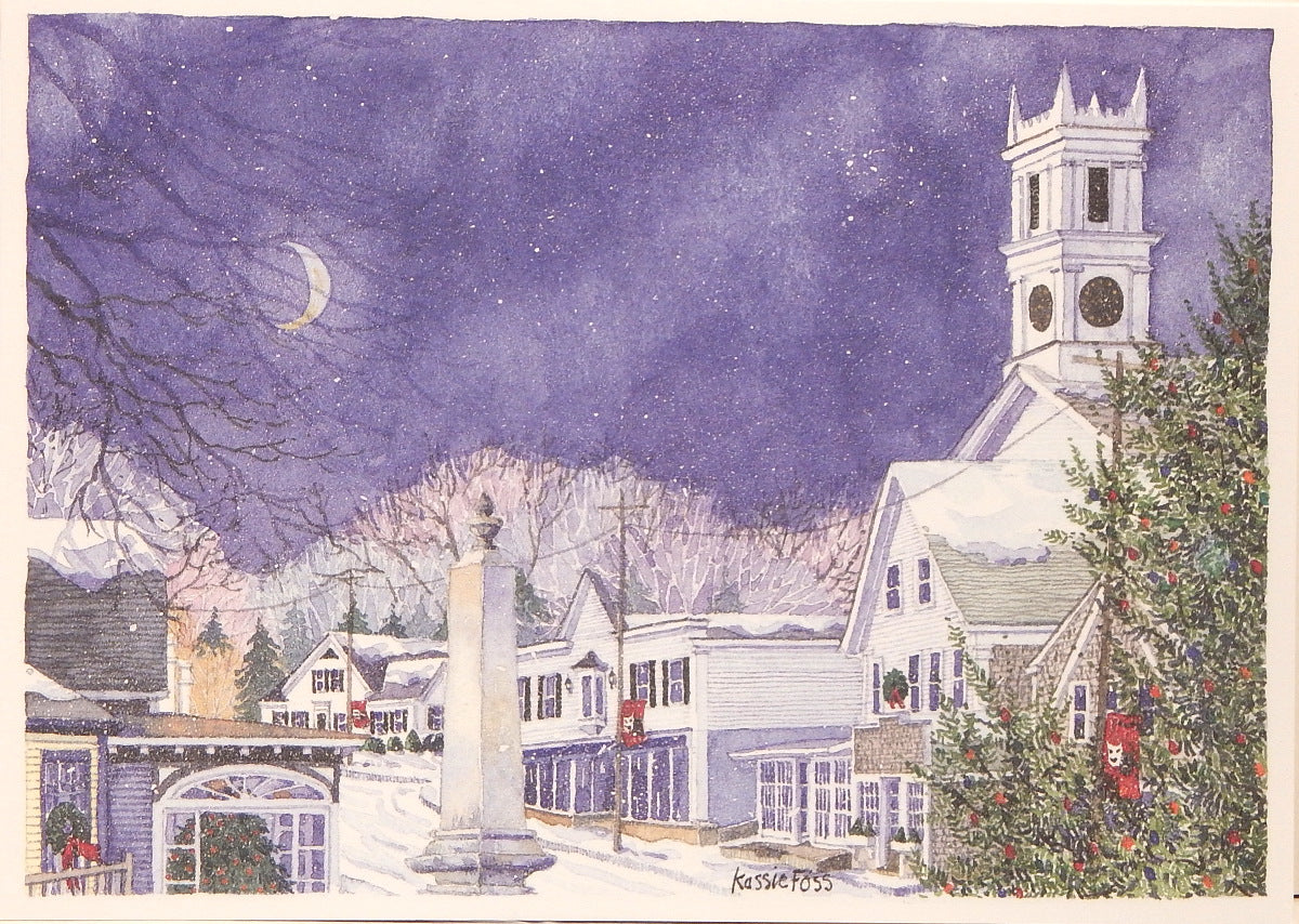 Scenic Christmas Cards (#948)<br>by Onion Hill Designs