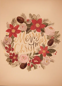 """Merry Christmas""<br>Scenic Christmas Cards (#983)<br>by Masterpiece Studios"
