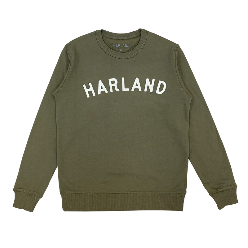 Men's Arch Crewneck Sweatshirt - Military Green