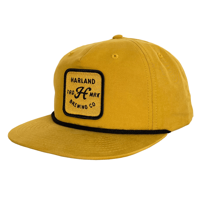 Pre-Order | Trademark Patch Hat - Gold