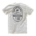 Quality Brewed Pocket T-Shirt - Bone