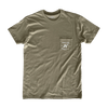 Quality Brewed Pocket T-Shirt - Military Green